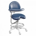Premium Ergonomic 9000 Series with Foot Ring and Left Body Support. Model 9020BL.