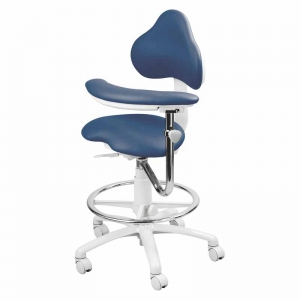 Premium Ergonomic 9100 Series with Foot Ring and Right Body Support. Model 9120BRV.
