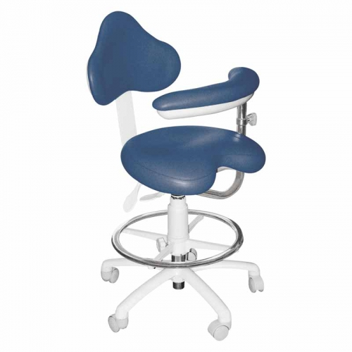 Premium Ergonomic 9200 Series with Backrest, Foot ring, and Right Body Support. Model 9220BLST