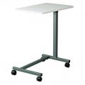 """U"" Base Table-shown in Gray Laminate top, gray epoxy finish on base Model: 11630"