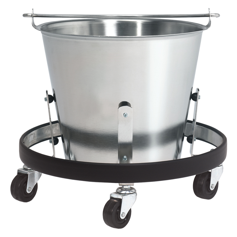 Stainless steel kick bucket brewer company