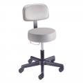 Value Plus Series Stool with Back Rest. Model: 22500B
