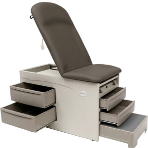 Access Exam Table Drawers Open