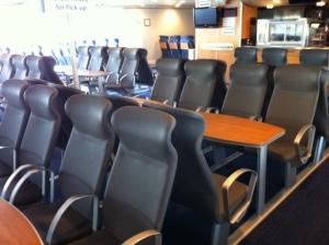 Lake Express Seats 2