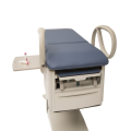 FLEX Access Exam Table with optional pass--through work surface